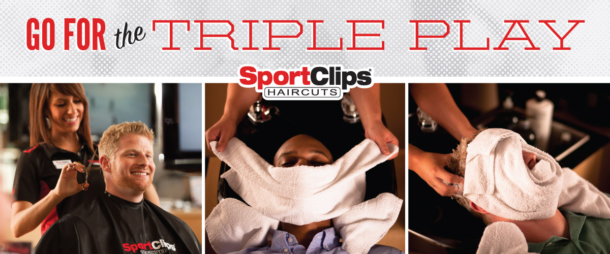 The Sport Clips Haircuts of Bonney Lake Triple Play